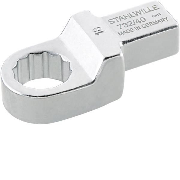 Utensili ad innesto - Chiavi ad anello ad innesto 17 mm per 14x18 mm Stahlwille 58224017 -