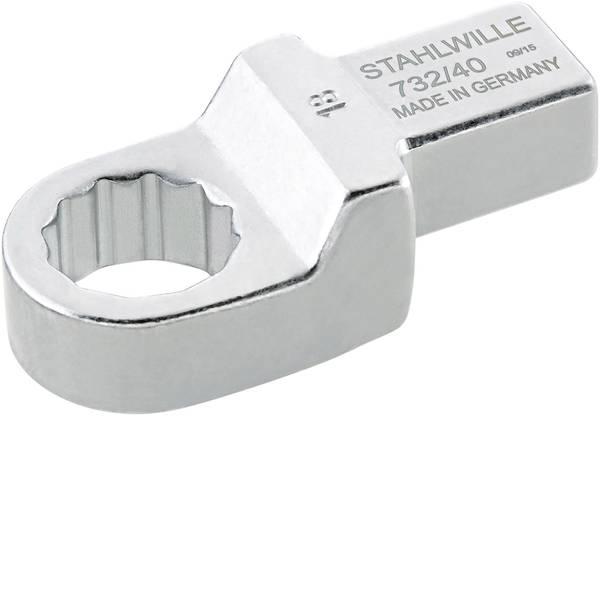 Utensili ad innesto - Chiavi ad anello ad innesto 19 mm per 14x18 mm Stahlwille 58224019 -