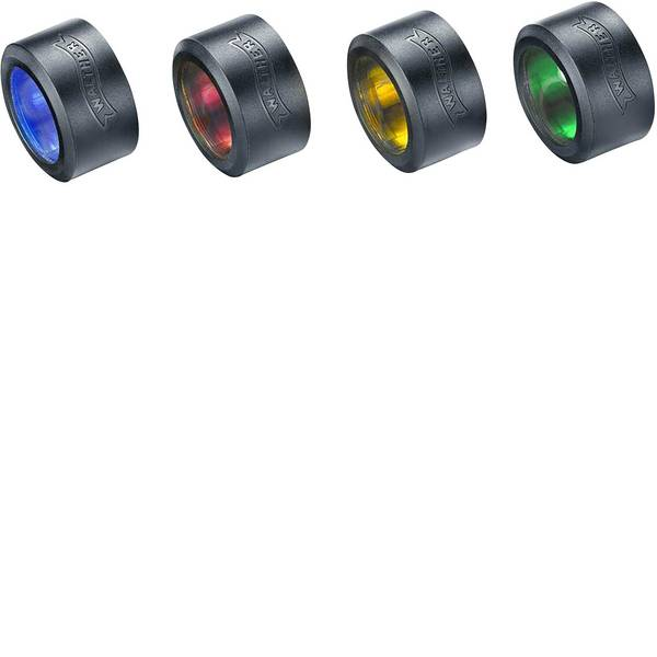 Accessori per torce portatili - Filtro colore Blu, Rosso, Giallo, Verde, Nero 1521688, 1521689 Walther PL70&PL80 -