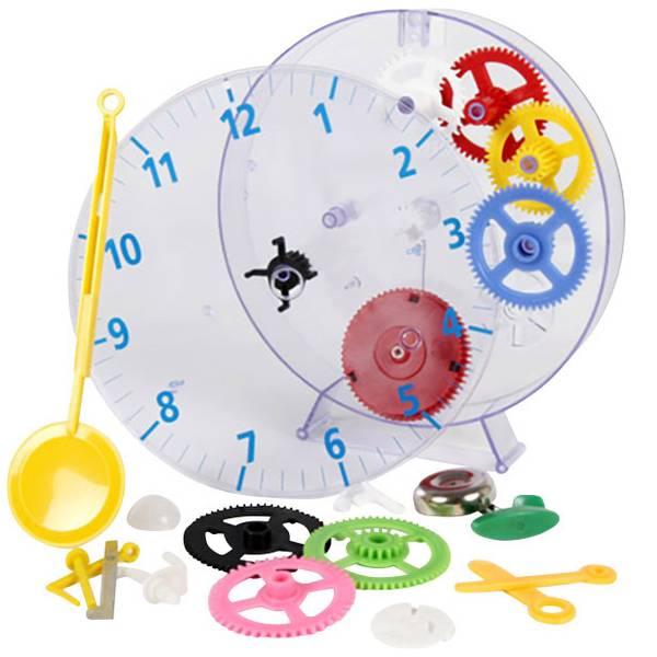 Orologi da parete - Techno Line Model kids clock Meccanico Kit apprendimento orologio da parete 20 cm x 3.5 cm Trasparente -