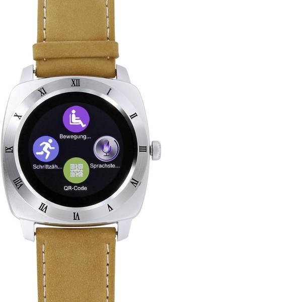 Dispositivi indossabili - X-WATCH Nara XW Pro CL Smartwatch Marrone -
