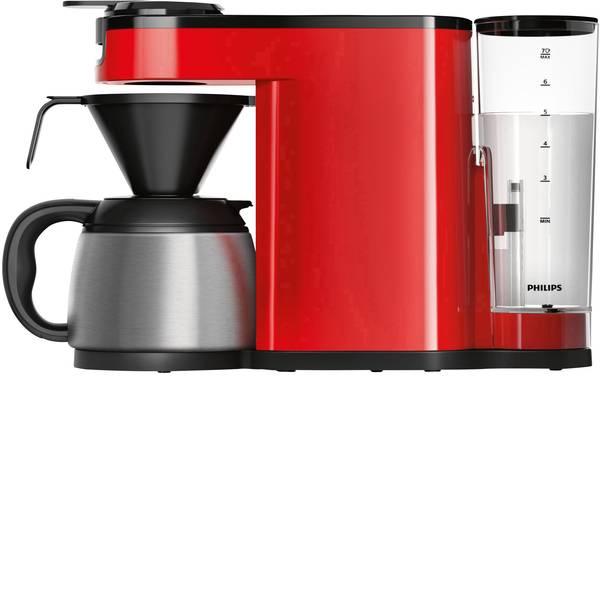 Macchine per caffè a capsule Senseo - Macchina per caffè con cialde SENSEO® New Switch HD6592/80 Rosso funzione macchina caffè -
