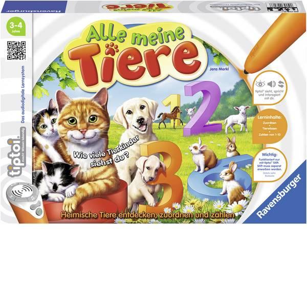Giochi di società e per famiglie - Ravensburger tiptoi® tutti i miei animali -