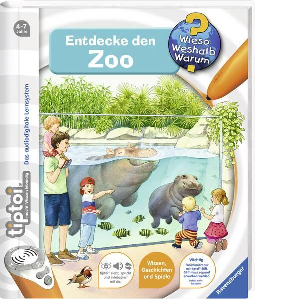 Giochi di società e per famiglie - Ravensburger tiptoi® scopri il zoo -