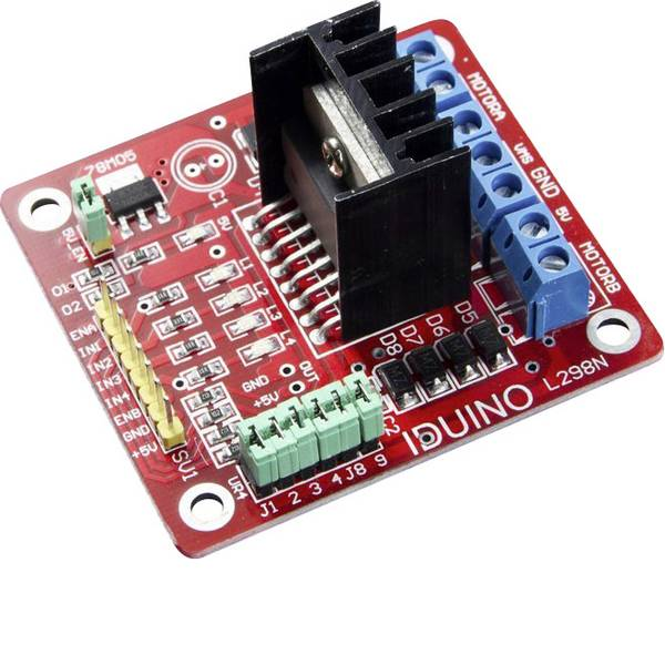 Moduli e schede Breakout per schede di sviluppo - Scheda driver controllo motori -