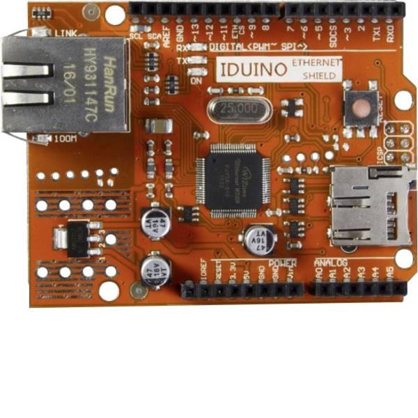 Shield e moduli aggiuntivi HAT per Arduino - Modulo di espansione Ethernet modulo adatto per (scheda): Arduino -