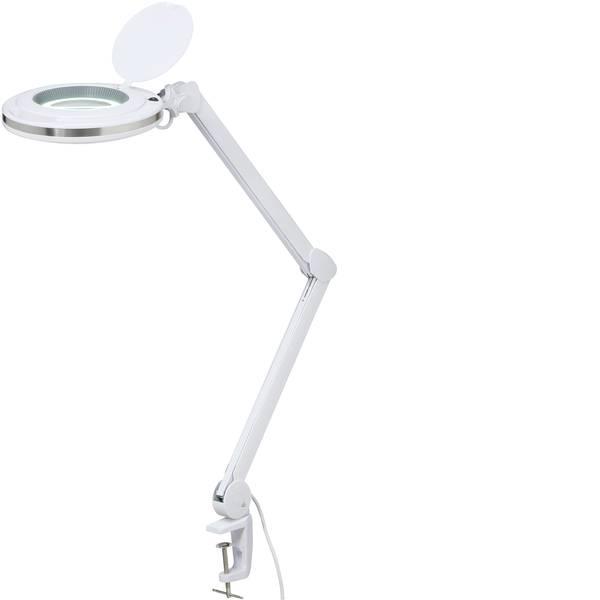 Lampade tecniche e lenti da laboratorio - Lampada a LED 5 con lente dingrandimento con supporto a morsetto TOOLCRAFT TC-RML-60LED-CL Numero di LED: 60  -