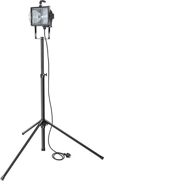 Illuminazioni per cantieri - Faretto alogeno Brennenstuhl Set H 500 1170770 Alogeno Nero R7s -
