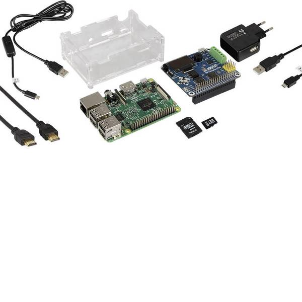 Kit esperimenti e pacchetti di apprendimento - Kit per esperimenti Joy-it Raspberry IOT Explorer Experiment-Set -