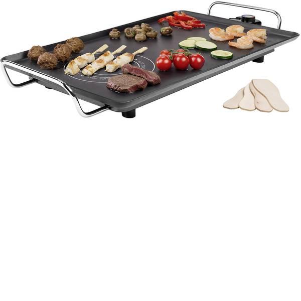 Grill - Princess Table Chef Hotzone XXL Tavolo Grill elettrico 2 zone grill Nero -