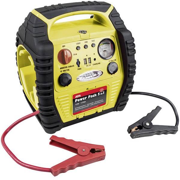 Jump Starter - Sistema di accensione rapido APA Power Pack 5in1 16547NV Corrente davviamento ausiliaria (12 V)=400 A -