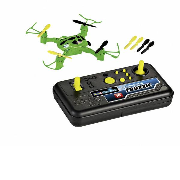 Quadricotteri e droni per principianti - Revell Control Froxxic Quadricottero RtF Principianti -
