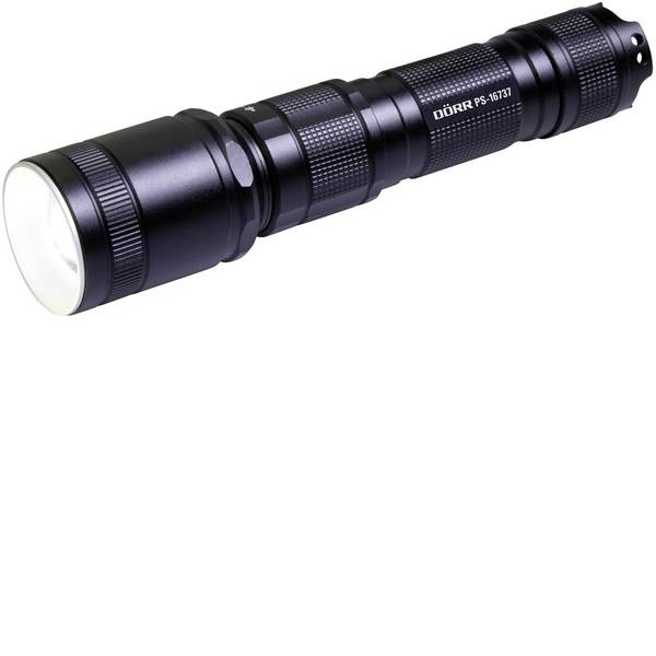 Torce tascabili - Dörr Foto PS-16737 LED Torcia tascabile Interfaccia USB, lungo raggio a batteria ricaricabile 600 lm 8 h 200 -