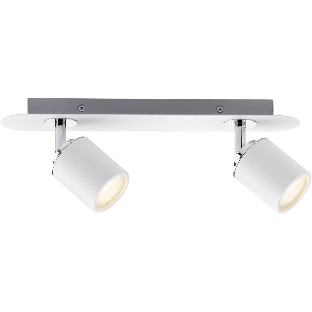 Lampada a soffitto per bagno led gu10 20 w paulmann tube 66718 bianco cromato in vendita online - Lampada bagno soffitto ...