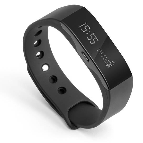 Dispositivi indossabili - Technaxx Trackfit TX-63 Fitness Tracker Uni Nero -