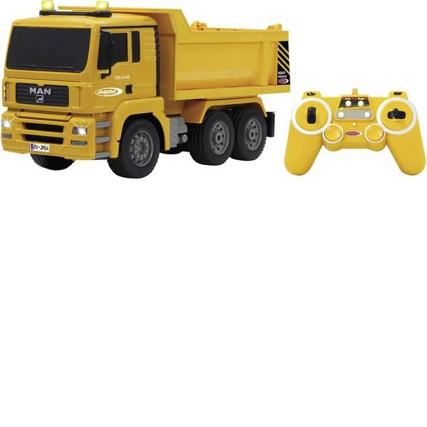 Trattori e mezzi da cantiere RC - Autocarro a cassone ribaltabile Modellino per principianti Jamara 1:20 Veicolo -