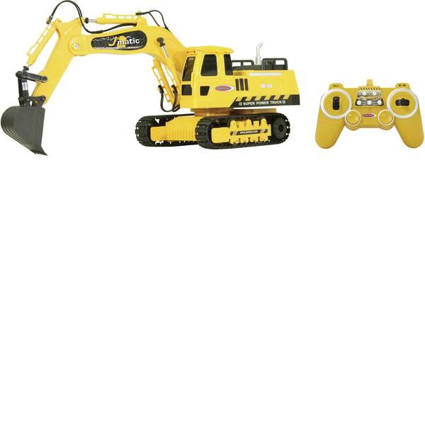 Trattori e mezzi da cantiere RC - Escavatore J-Matic Modellino per principianti Jamara 1:27 Veicolo -