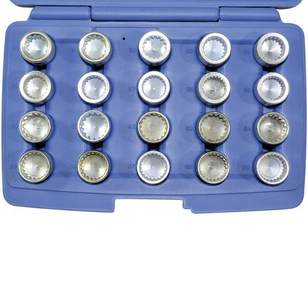 Strumenti speciali per auto - Set di chiavi per lucchetto per cerchione Kunzer Kunzer 7FSP20 -