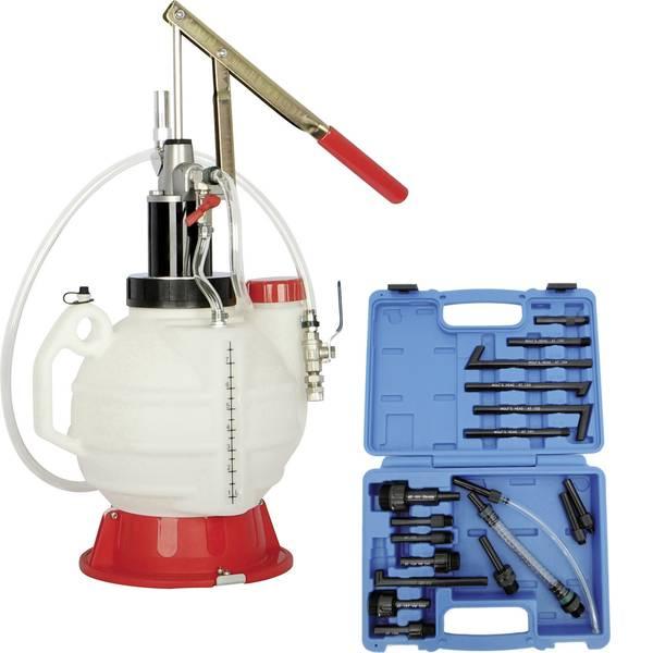 Utensili per la manutenzione dell`olio - Dispositivo di riempimento Kunzer con 18 adattatori Kunzer 7OEG18 -