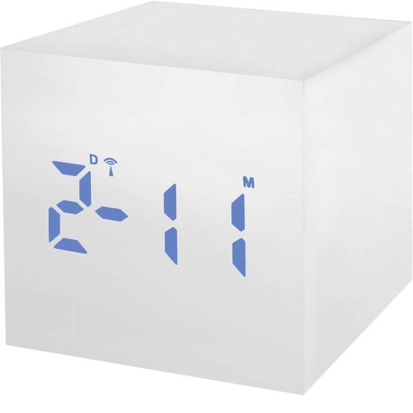 Sveglie - Bresser Optik 8020402GYEBLU Radiocontrollato Sveglia Bianco -