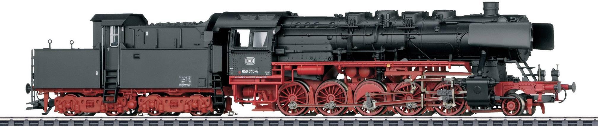 Märklin 37836 Locomotiva a vapore per merci BR 050 della DB in scala H0