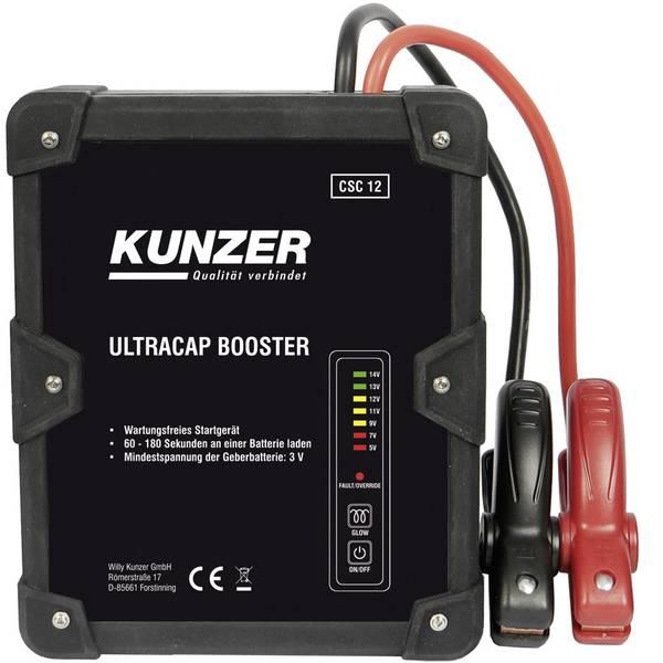 Jump Starter - Sistema di accensione rapido Kunzer CSC 12 -