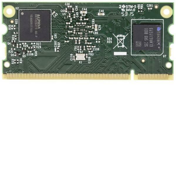 Schede di sviluppo e Single Board Computer - Raspberry Pi® Compute Modul 3 Compute Modul 3 4GB 1 GB 4 x 1.2 GHz Raspberry Pi® -
