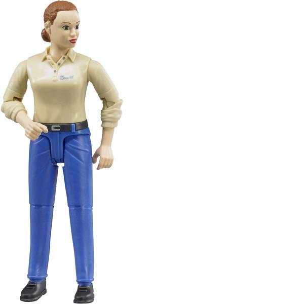 Personaggi da gioco - Donna Bruder con una pelle e dei pantaloni blu scuro -