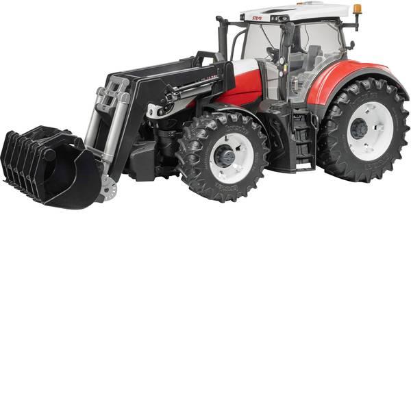 Veicoli agricoli - 6300 Terrus CVT Steyr Bruder con caricatore frontale -
