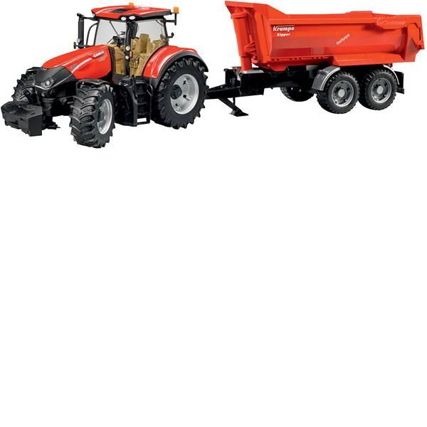 Veicoli agricoli - Bruder Case IH CVX Optum 300 con Krampe Tandem -