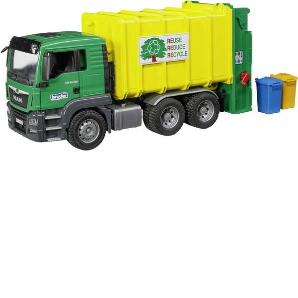 Veicoli industriali e veicoli da cantiere - Camion immondizia con caricatore posteriore MAN TGS Bruder -