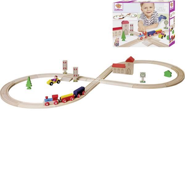 Treni e ferrovie in legno - Ferrovia di legno Eichhorn Kit pista a otto 100001262 -