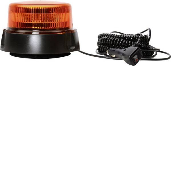 Lampeggianti e luci di segnalazione - WAS Luce a tutto tondo W112 852.2 12 V, 24 V via rete a bordo Ventosa, Montaggio a vite, Magnetico Arancione -