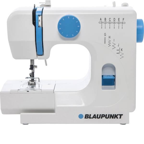 Macchine da cucire - Blaupunkt Macchina per cucire a braccio libero Smart 625 Bianco, Blu chiaro -
