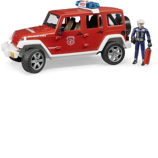 Veicoli senza telecomando - Bruder Jeep Wrangler Unlimited Rubicon Veicolo dei vigili del fuoco con vigile del fuoco -
