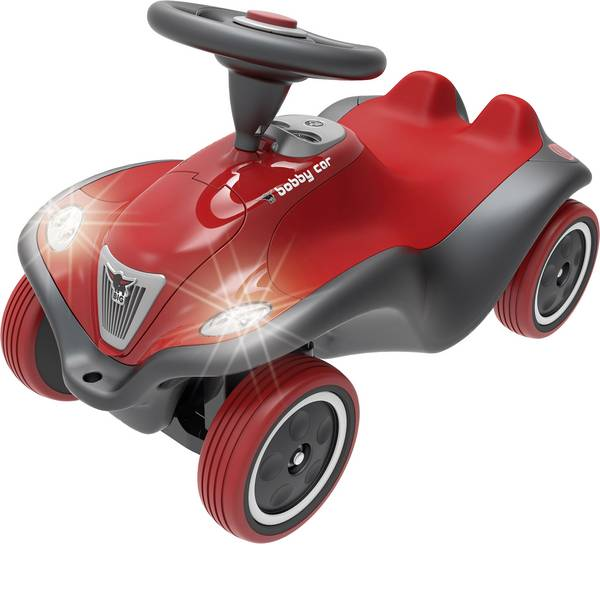 Auto a spinta - BIG bobby-car NEXT antracite/rosso -
