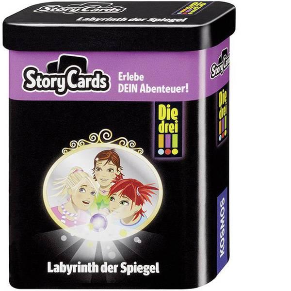 Giochi per bambini - Kosmos Story Card - i tre !!! Labirinto lo specchio -
