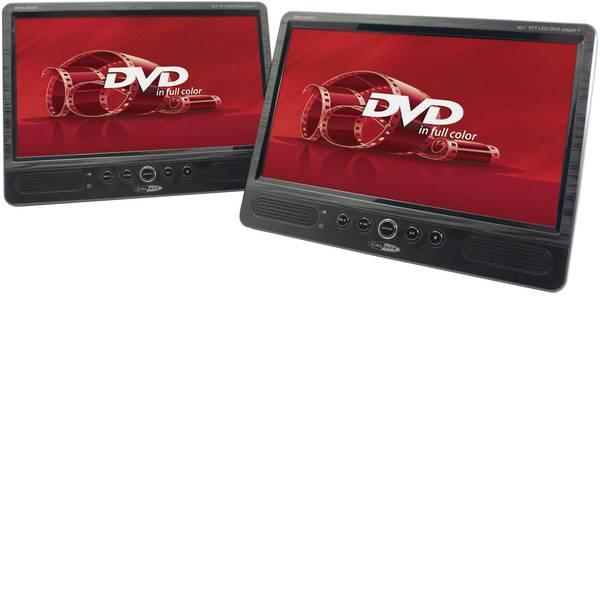 Sistemi DVD per poggiatesta auto - Caliber Audio Technology MPD-2010T Lettore DVD per poggiatesta con 2 monitor Diagonale schermo=25.4 cm (10 pollici) -