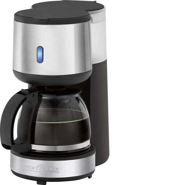 Macchine dal caffè con filtro - Profi Cook PC-KA 1121 Macchina per il caffè Nero/acciaio inox Capacità tazze=4 Caraffa in vetro -
