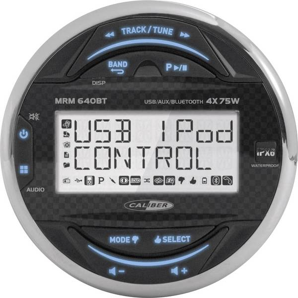 Autoradio e Monitor multimediali - Caliber Audio Technology MRM640BT Unità marina A prova di spruzzi -