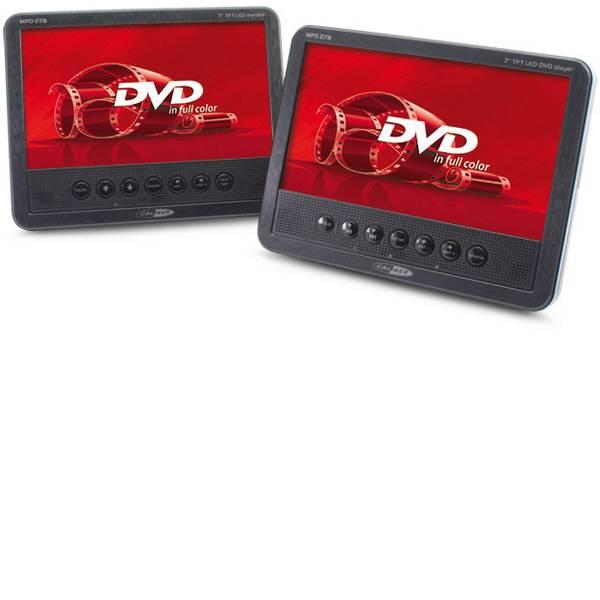 Sistemi DVD per poggiatesta auto - Caliber Audio Technology MPD278 Lettore DVD per poggiatesta con 2 monitor Diagonale schermo=17.78 cm (7 pollici) -