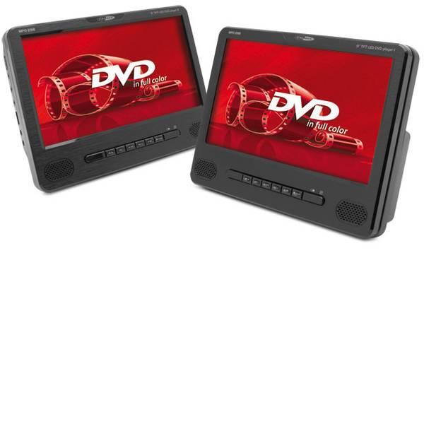 Sistemi DVD per poggiatesta auto - Caliber Audio Technology MPD298 Lettore DVD per poggiatesta con 2 monitor Diagonale schermo=22.86 cm (8 pollici) -