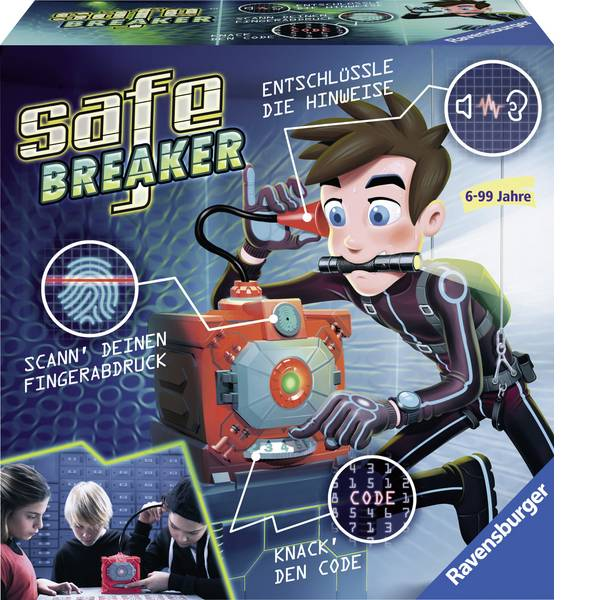 Giochi di società e per famiglie - Ravensburger - Safe Breaker -