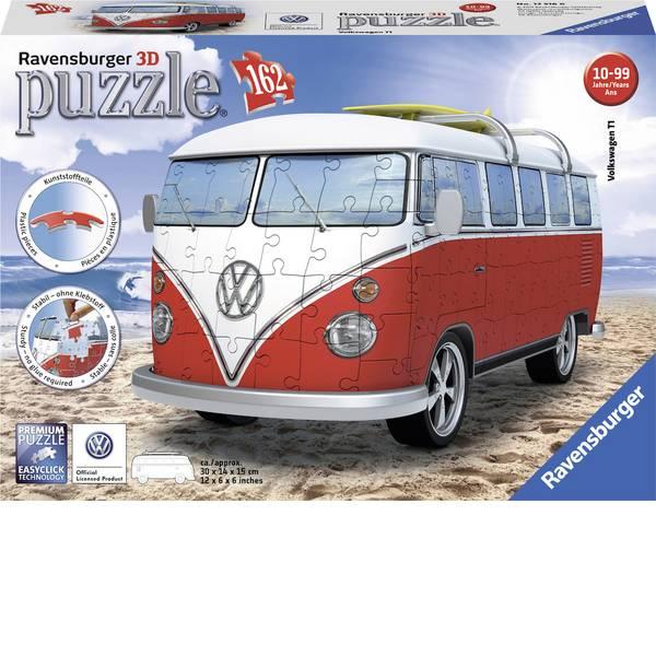 Puzzle - Ravensburger Puzzle 3D - Volkswagen T1 surfisti Edition -