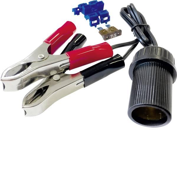Accessori per presa accendisigari - BAAS Connettore per presa accendisigari con pinze e fusibile BA11 Portata massima corrente=10 A -