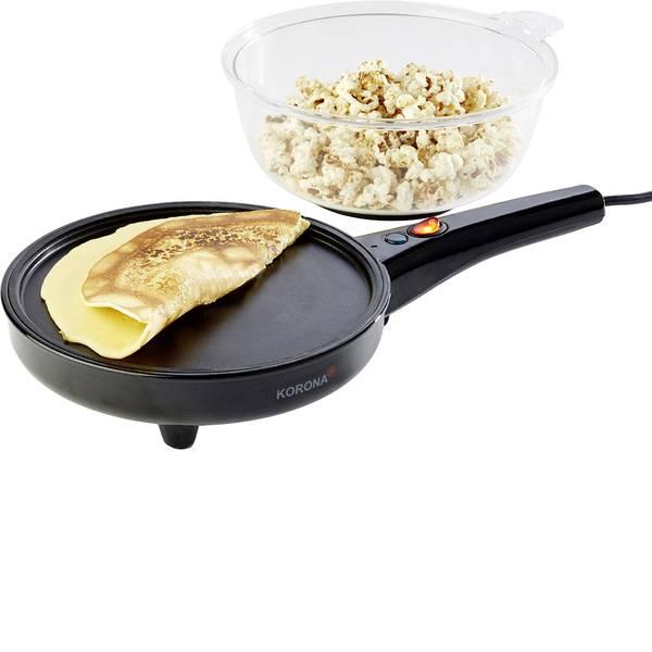 Elettrodomestici e altri utensili da cucina - Crépes Maker Korona 41050 Crépes & Popcorn Nero -