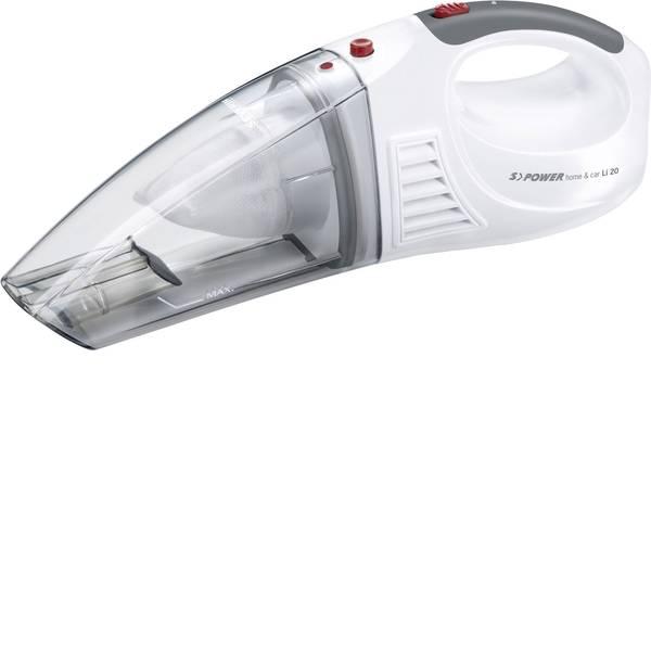 Aspirabriciole - Severin S Power Home u. Car Aspirapolvere a batterie 7.4 V Bianco neve, Rosso -
