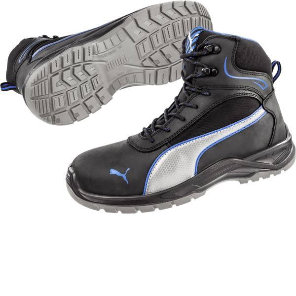Scarpe antinfortunistiche - Stivali di sicurezza S3 Misura: 45 Nero, Blu, Argento PUMA Safety Atomic Mid SRC 633600-45 1 Paia -