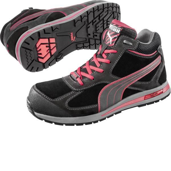 Scarpe antinfortunistiche - Stivali di sicurezza S3 Misura: 45 Nero, Rosso PUMA Safety Fulltwist Mid HRO SRC 633160-45 1 Paia -