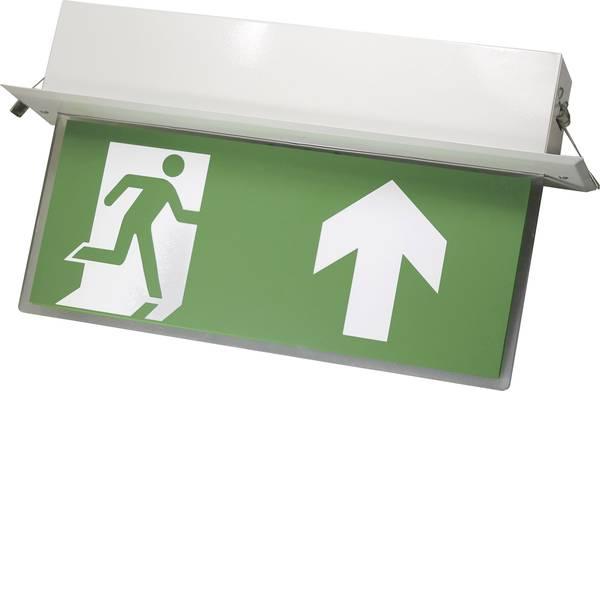 Segnaletica per uscite d`emergenza - Sensorit 0301-B Indicazione via di fuga illuminata Montaggio da incasso a soffitto -